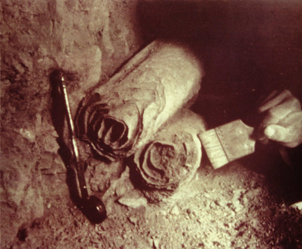 The discovery of the Copper Scroll