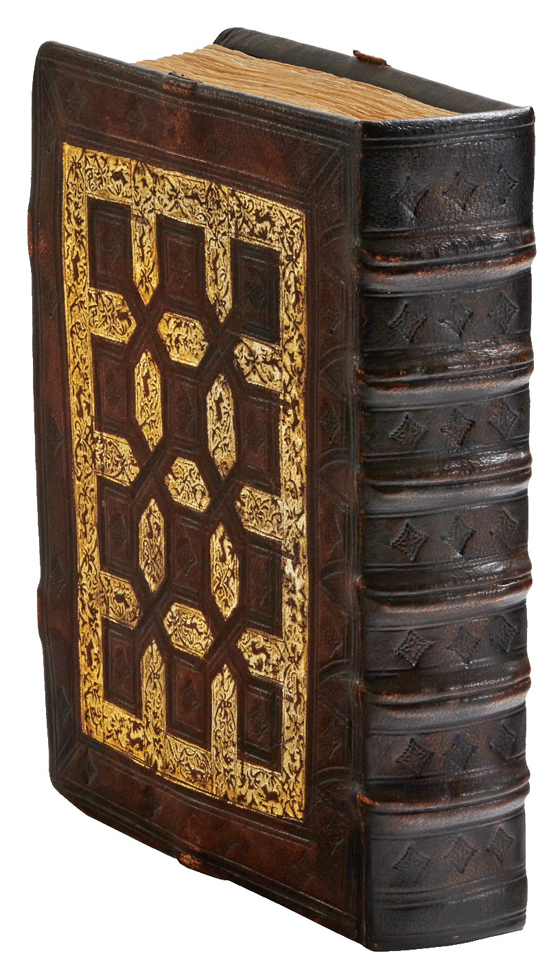 """The perfectly replicated facsimile binding. <small><a href=""""https://www.facsimile-editions.com/copyright/"""">© Copyright 2021 Facsimile Editions Ltd</a></small>"""