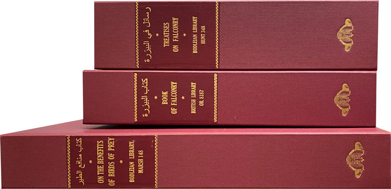 """The facsimiles were individually protected in archival quality suede-lined solander boxes together with a scholarly commentary text and a certificate of authenticity. <small><a href=""""https://www.facsimile-editions.com/copyright/"""">© Copyright 2021 Facsimile Editions Ltd</a></small>"""