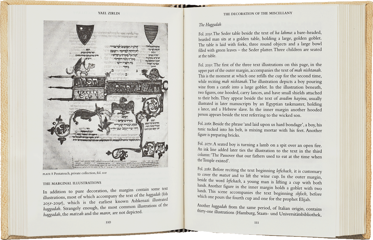 """Pages 110-11 of the 316-page Commentary Volume.  <small><a href=""""https://www.facsimile-editions.com/copyright/"""">© Copyright 2020 Facsimile Editions Ltd</a></small>"""