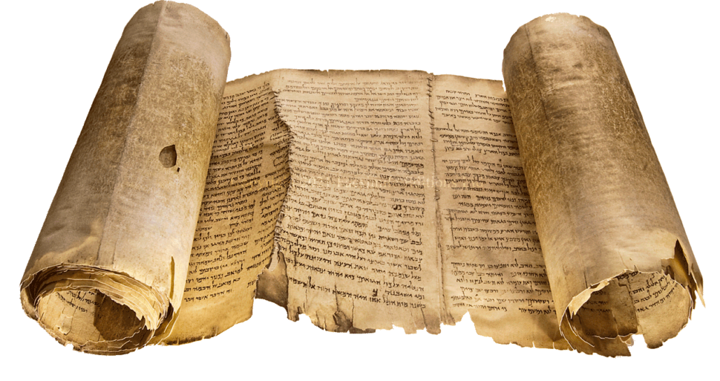 """The facsimile of the Great Isaiah Scroll.  © Copyright 2021 Facsimile Editions Ltd. <small><a href=""""https://www.facsimile-editions.com/copyright/"""">CLICK HERE for Copyright T&C Facsimile Editions Ltd</a></small>"""