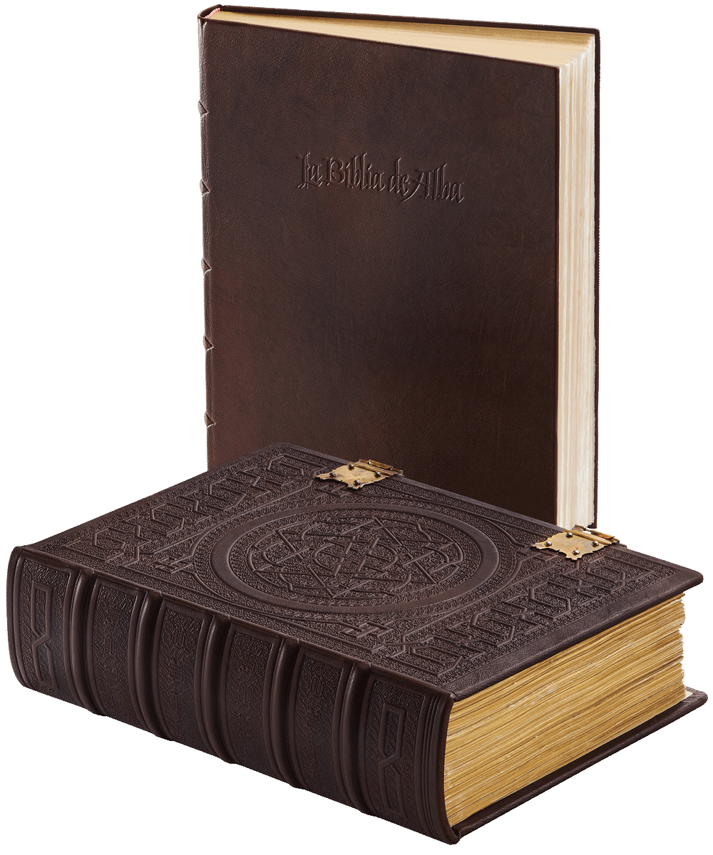 """The Alba Bible facsimile and commentary volume  © Copyright 2021 Facsimile Editions Ltd. <small>For use visit: <a href=""""https://www.facsimile-editions.com/copyright/"""">Copyright T&C Facsimile Editions Ltd</a></small>"""