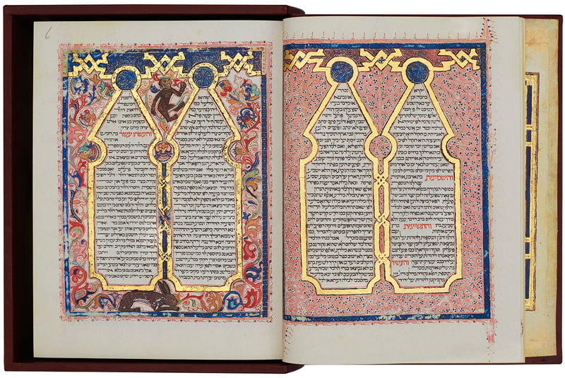 Our first facsimile, the Bodleian Library's magnificent Kennicott Bible  © Copyright 2021Facsimile Editions Ltd